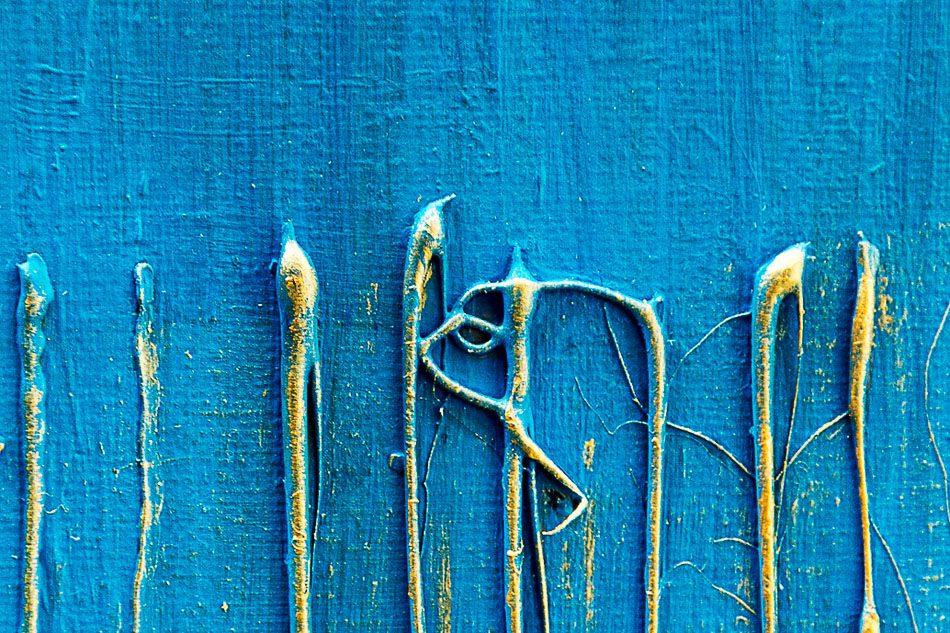 Antibes – Golden Rain (Detail)