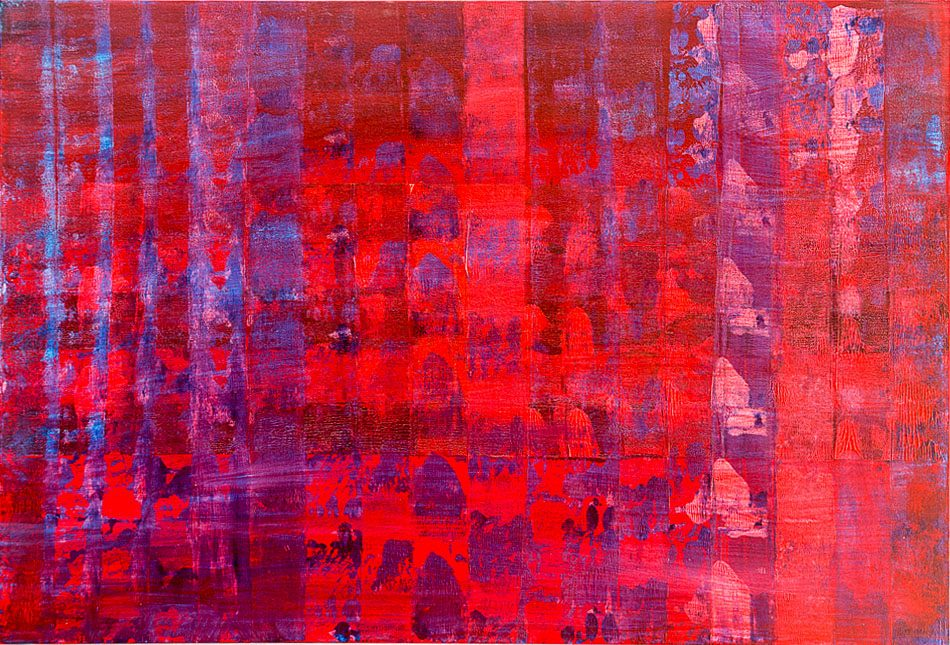 Red Minarets - Evening