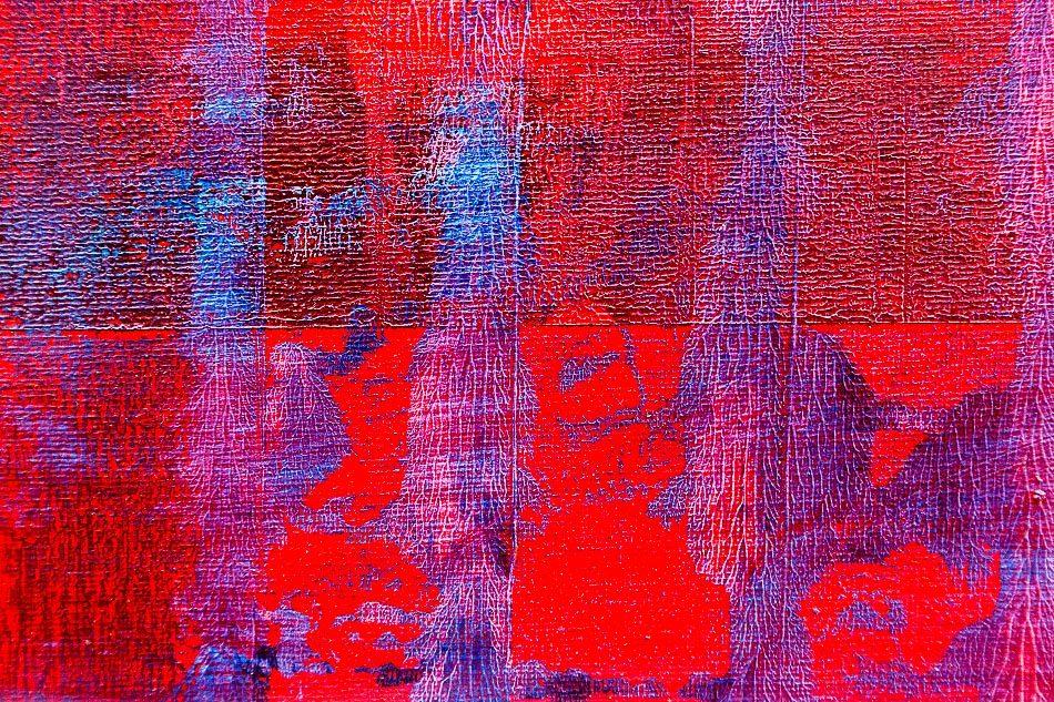 Red Minarets - Evening (Detail)