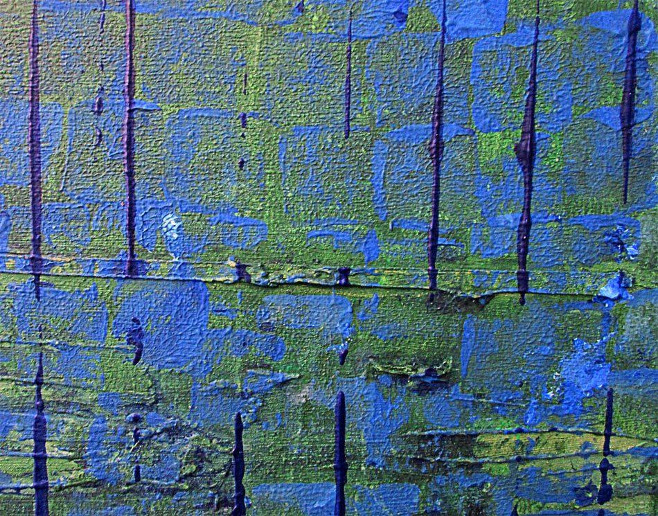 Turquoise Cloud (Detail 1)