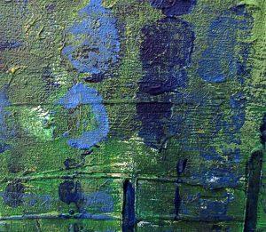 Turquoise Cloud (Detail 2)
