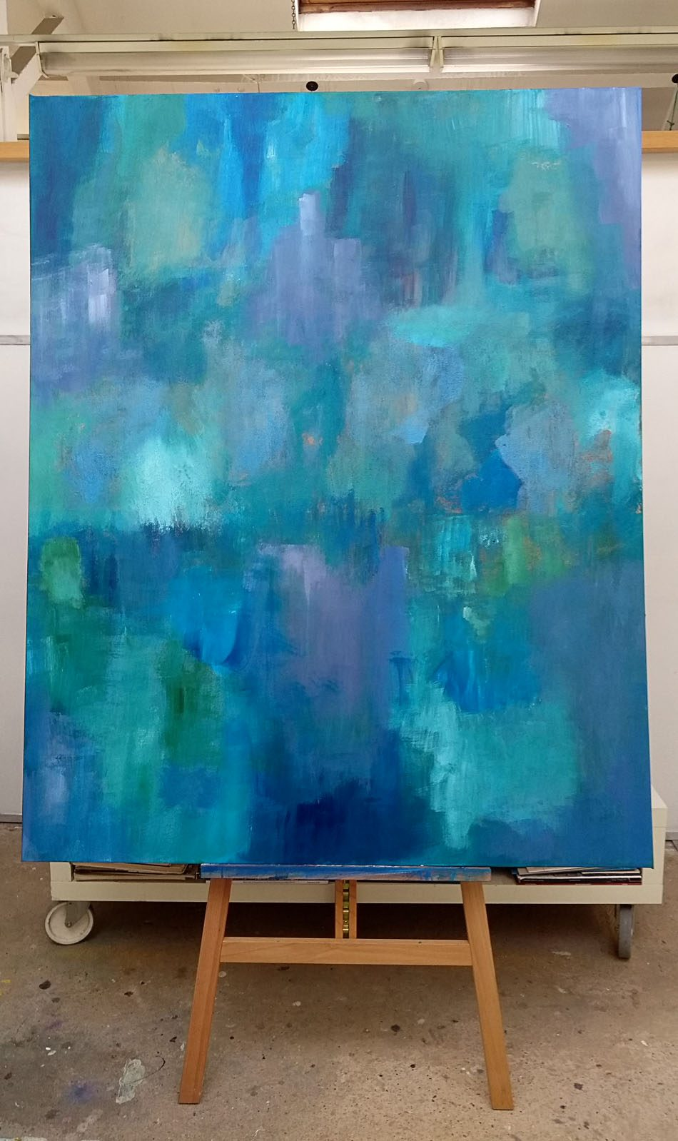 Catastrophe (On Easel)