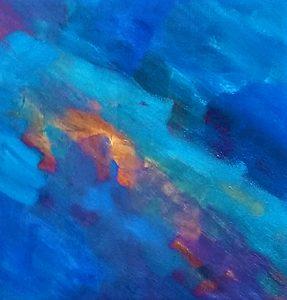 Coucher d' Soileil (Sunset) - (Detail 3)