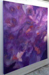Bathing in Purple ©Tony Davie