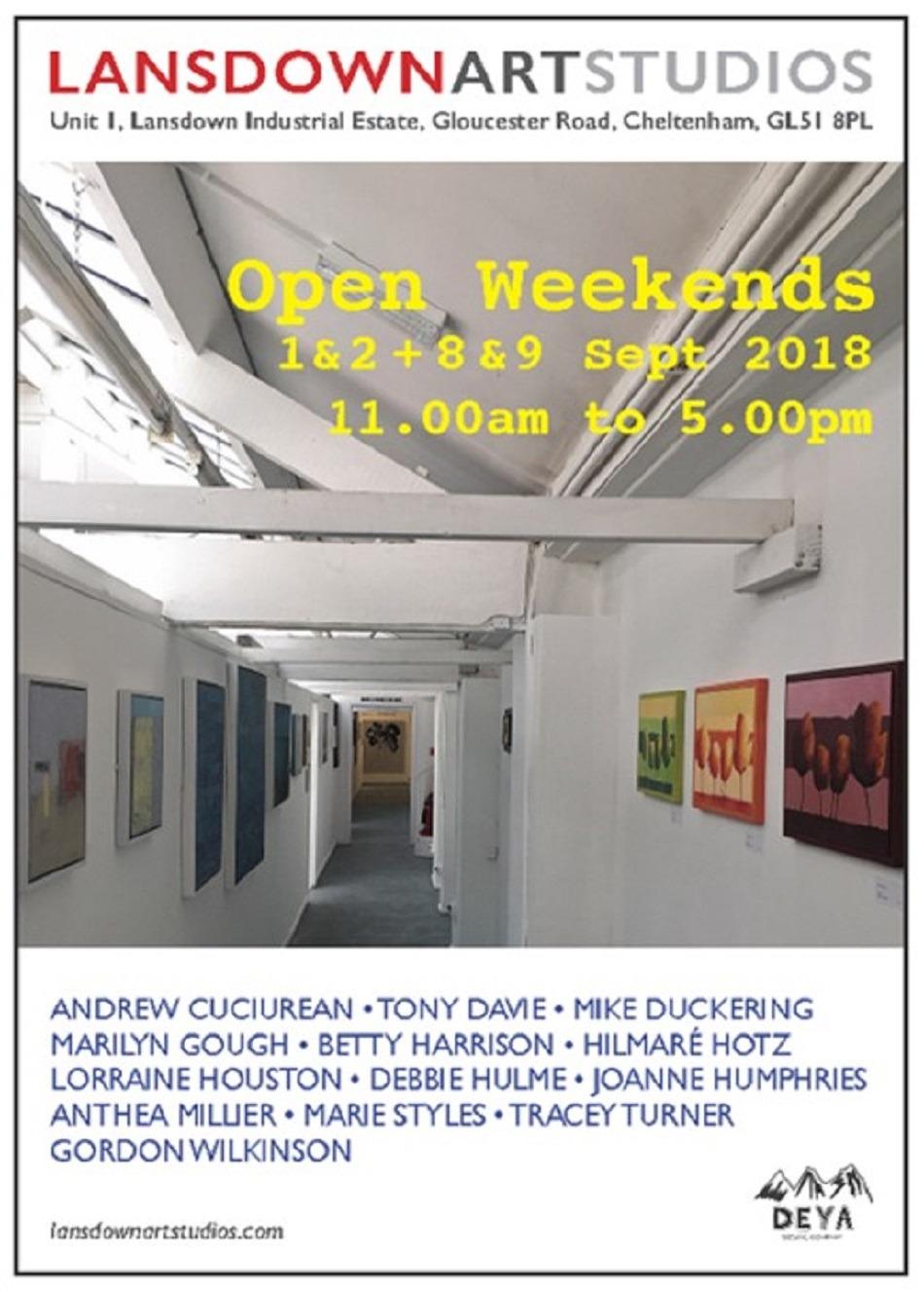 Lansdown Art Studios invite 2